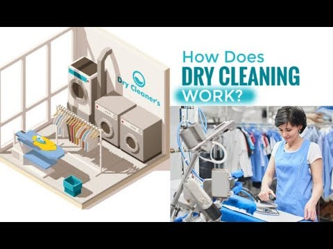 What Is Dry Cleaning ।। How Does Dry Cleaning Work
