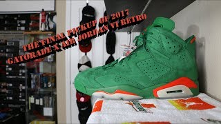 4d8c83f835e177 Category JORDAN 6 GREEN GATORADE ON FEET