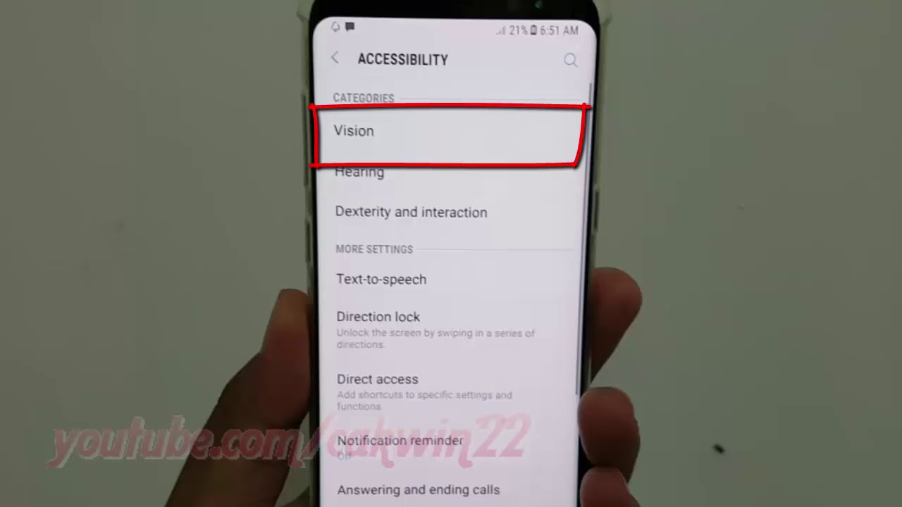Samsung Galaxy S8 or S8+ : How to Turn on or Turn off Voice Assistant