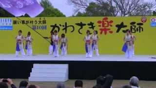 厄除けよさこいコンテスト 大師公園メインステージ Team Fortis!風舞菖...