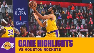 HIGHLIGHTS | Los Angeles Lakers vs. Houston Rockets