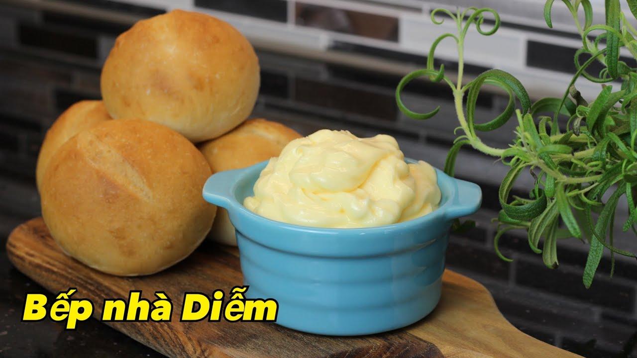 Sốt bơ thơm – Sốt bơ gia truyền bánh mì Việt Nam – Cách làm sốt bơ bất bại   Bếp Nhà Diễm  