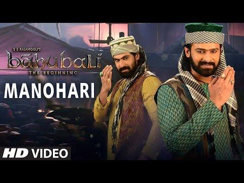 Manohari Full hd hindi Song (Video) || Baahubali || Prabhas, Rana, Anuska, Tamannaah