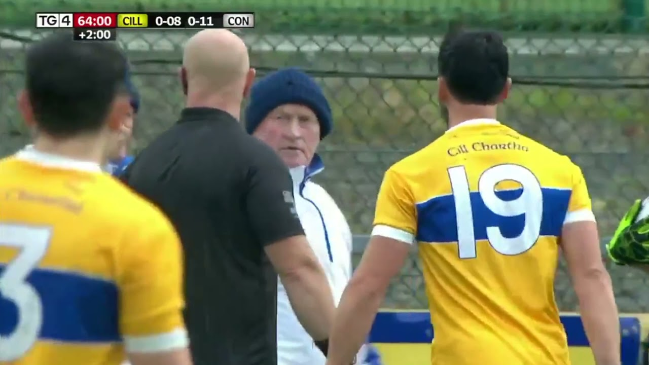 Download Last minute drama as goal disallowed in Club championship Naomh Conaill 0 11 v Cill Chartha 0 8