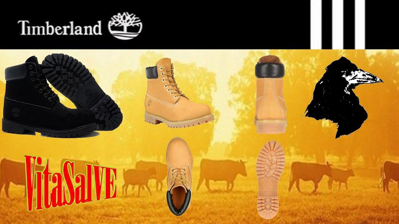 Желтые кожаные женские ботинки Timberland 102 (Тимберленд) - YouTube