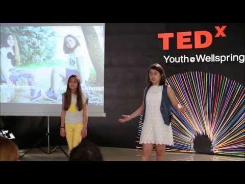 A guide to a balanced news diet: Kinda Shammas & Fadwa Ali Ahmad at TEDxYouth@WellspringLC