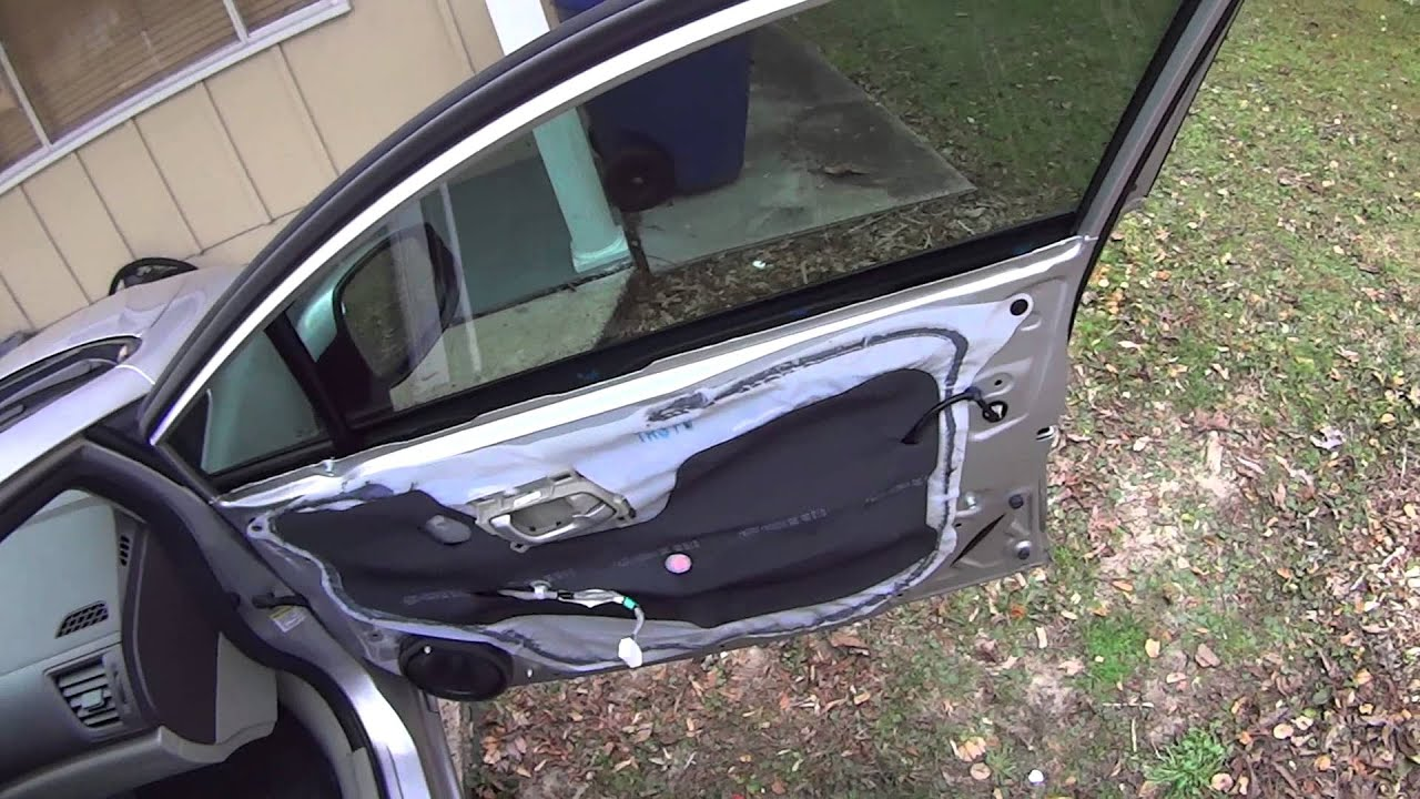 2005 2015 Honda Civic Accord Door Panel Removal And