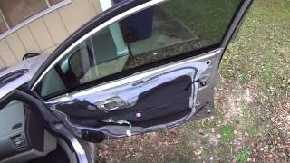 2005-2015 Honda Civic Accord Door Panel Removal and Installation