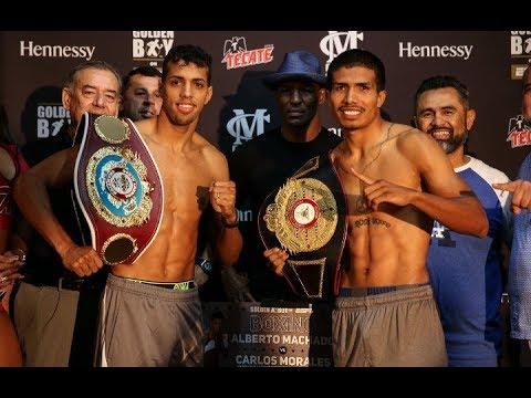 Alberto Machado vs Carlos Morales (Full Fight HD)