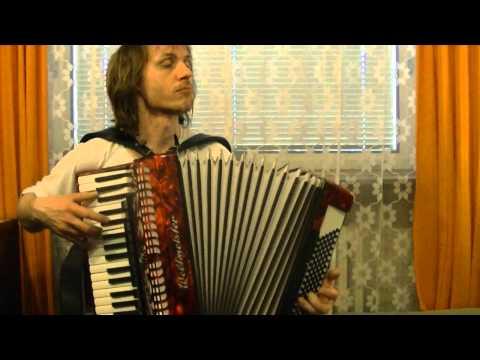 Akáty bílé ,žaluji vám - České tango (F. Blahník ) - akordeon :-)
