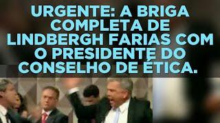 URGENTE: A BRIGA COMPLETA DO SENADOR LINDBERGH FARIAS COM O PRESIDENTE DO CONSELHO DE ÉTICA.