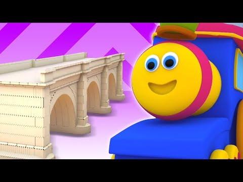 Bob o trem | Ponte de Londres está caindo | portugues crianças canção | London Bridge is Falling