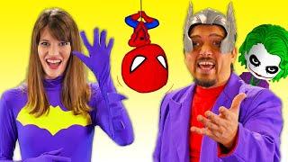 Superhero Colors Finger  Family 2020 | Songs for Kids Chu Chu Ua