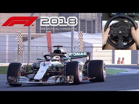 Pilotando Com Lewis Hamilton No GP Da Alemanha F1 2018 Gameplay