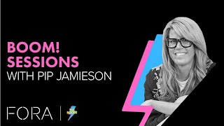 The future of creative careers. | Boom! Session with Pip Jamieson of The Dots