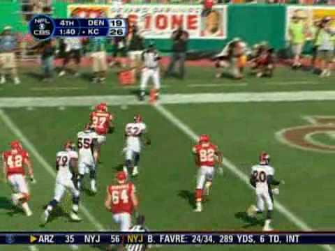 Larry Johnson Touchdown - Week 4