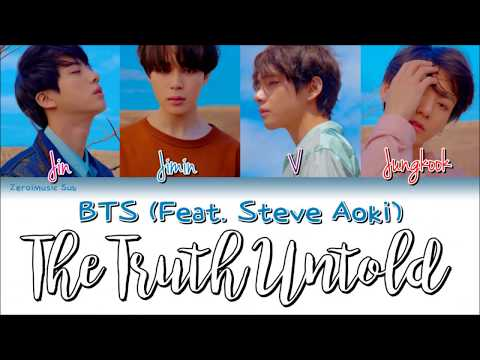 BTS(방탄소년단)-The Truth Untold/The Undelivered Truth(전하지 못한 진심)-가사(Sub español+lyrics+Colorcodedlyrics)