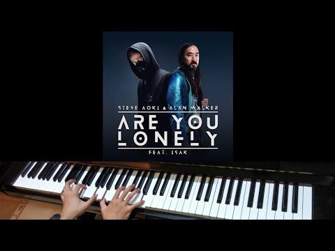 Alan Walker & Steve Aoki Ft Isak & Omar Noir - Lonely (Jarel Gomes Piano)