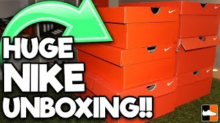 What's In The Box? Massive 2018 Nike Unboxing