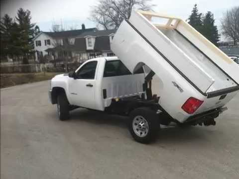 pierce 2 ton dump truck conversion