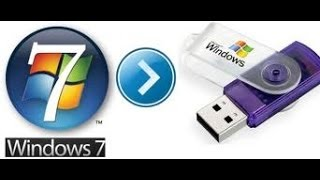 how to create bootable windows 7 usb and install windows from usb