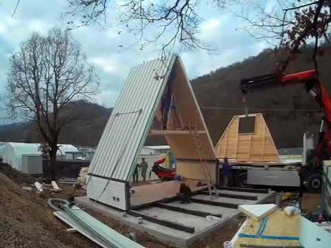 $33,000 flat-pack house only takes 6 hours to build