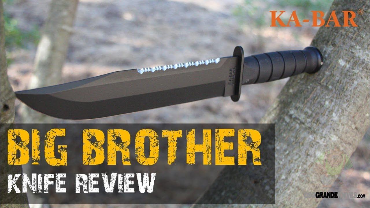 Kabar Big Brother 2211 Knife Review | OsoGrandeKnives