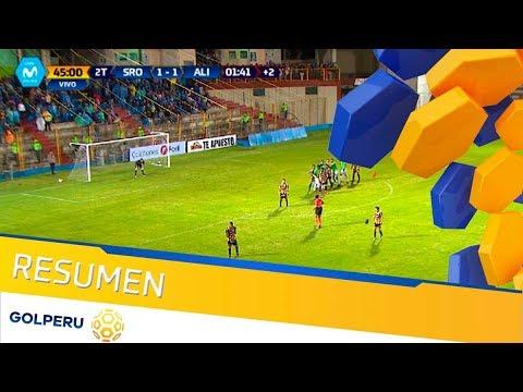 Resumen - Sport Rosario vs Alianza Lima (1-1)