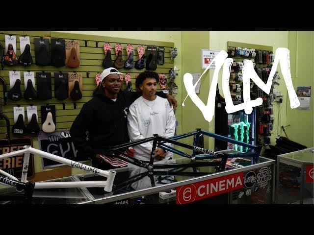 Volume BMX: BTS - ALL DAY BMX X Demarcus Paul & Jarren Barboza Frame Release Jam