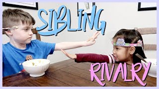 SIBLING RIVALRY |They are ALWAYS fighting about something!😜