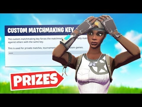how to stop custom matchmaking fortnite