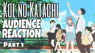 Koe No Katachi Audience Reaction