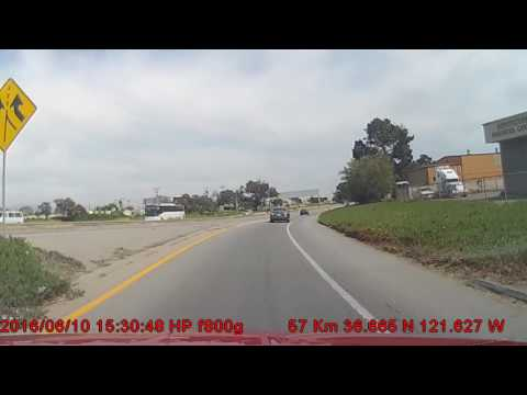 US-101 & CA-154 Southbound - 4 Hour Drive
