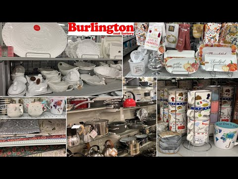 Burlington Kitchen Home Decor | Dinnerware Table Decoration Ideas | Shop With Me 2019