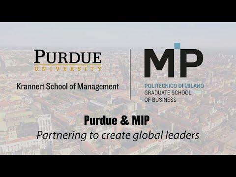 Purdue & MIP: Partnering To Create Global Leaders
