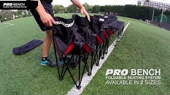 Pro Bench - The Ultimate Folding Sports Bench