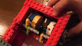 完成度に圧巻! レゴブロックで作られたダイヤルロック式の金庫