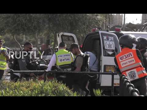 Israel: Palestinian women shot dead after attempting to stab officer - police report