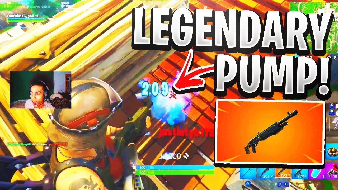 Best Shotgunner uses NEW LEGENDARY Pump (200+ Damage)