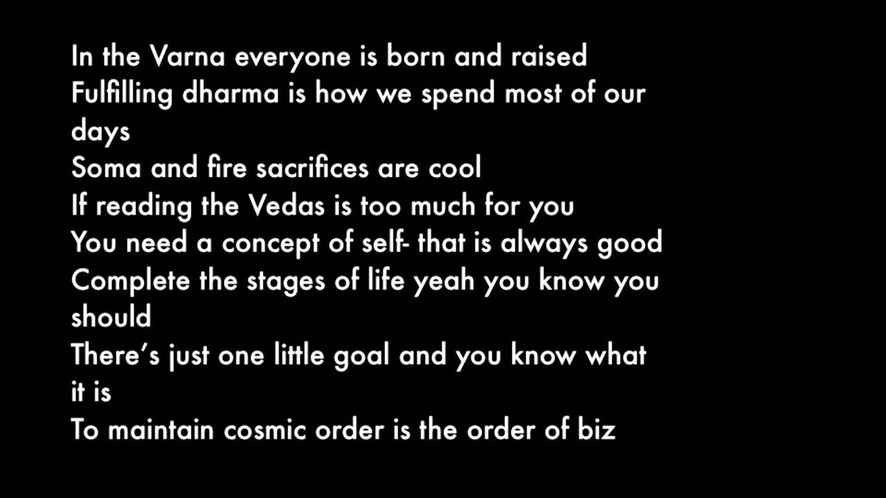 Oo - Up Dharma Down with Lyrics - YouTube