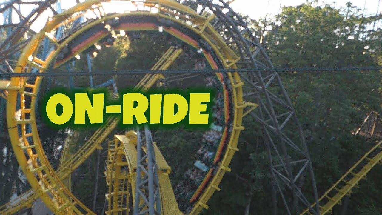 Aeronaut Skyride On Ride (HD POV) Busch Gardens Williamsburg