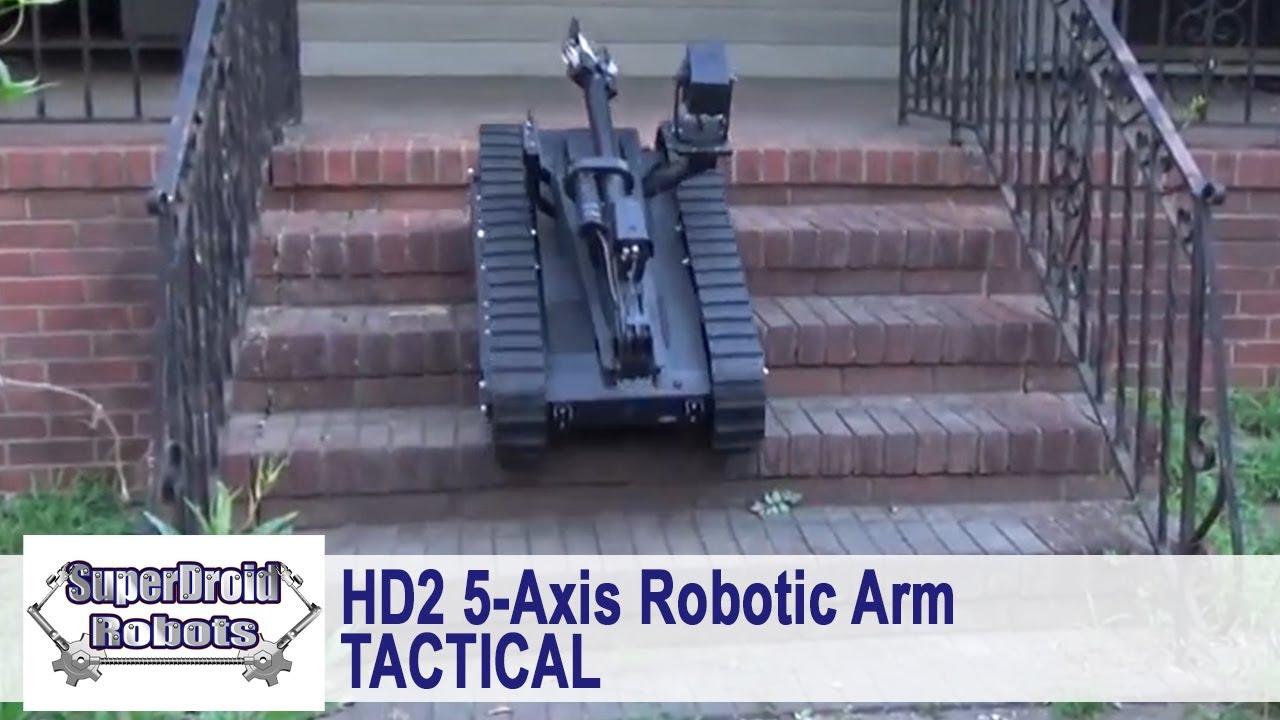 Robots with Arms   Custom Robot Arms