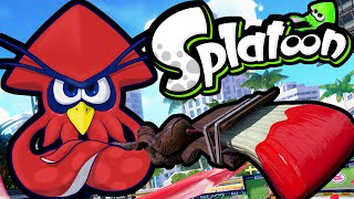 Splatoon Wii U Gameplay Kraken Returns! Octobrush Tower Control Ranked Mode 2.5 Online Walkthrough