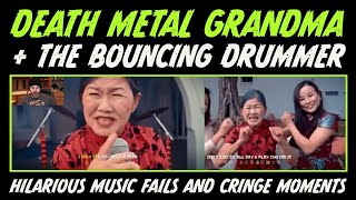 DEATH METAL GRANDMA/THE BOUNCING DRUMMER