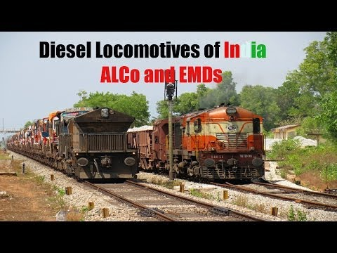 Indian Railways Diesel Engines compilation.