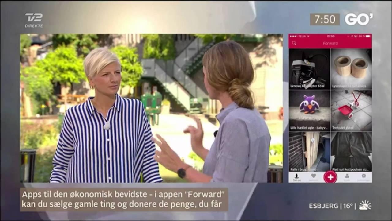 Forward in Go'Morgen Danmark (TV2)