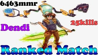 Dota 2 - Dendi plays Tinker - Ranked Match