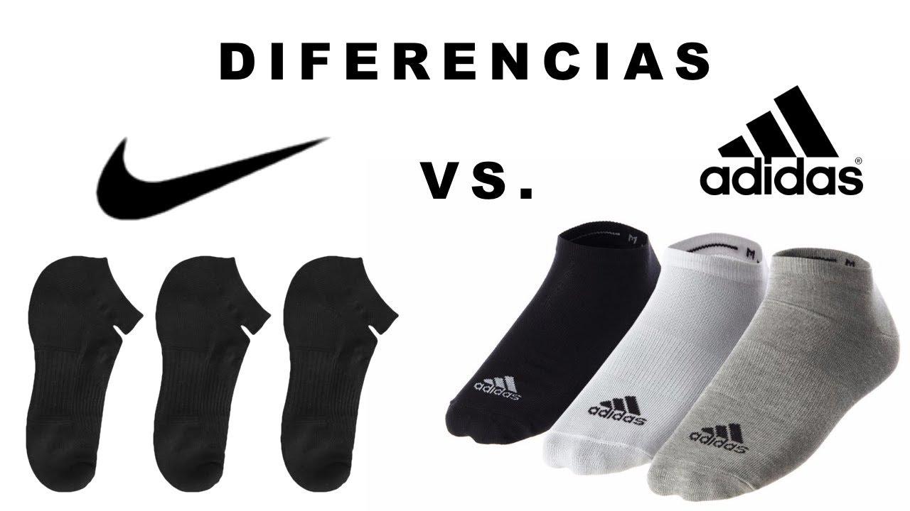 Interprete vacante Visualizar  Mira las diferencias de los calcetines | Nike vs. Adidas | Precios - YouTube