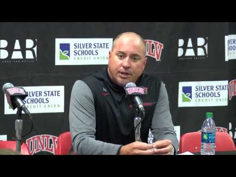 UNLV Football Postgame Press Conference vs. BYU