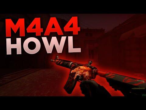 CS:GO - M4A4 Howl (Factory New) Skin Showcase (Contraband Skin/Rifle Showcase)